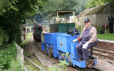 The Great Bush narrow gauge railway Cavalcade