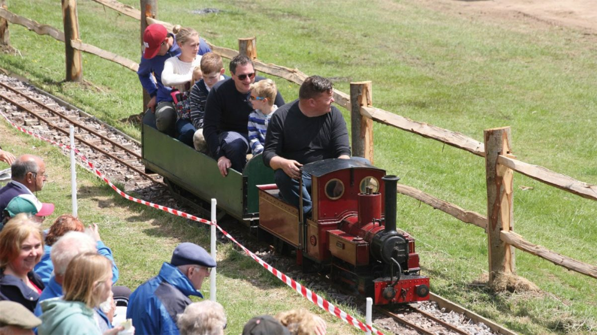 Miniature passenger carrying railway