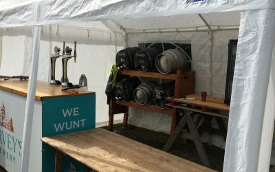 Tinkers Parks Real Ale Tent