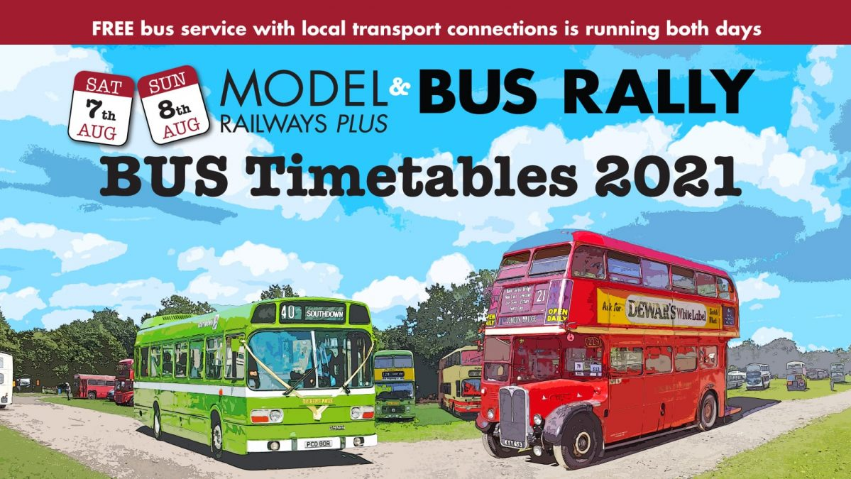 7th & 8th August – Bus timetables